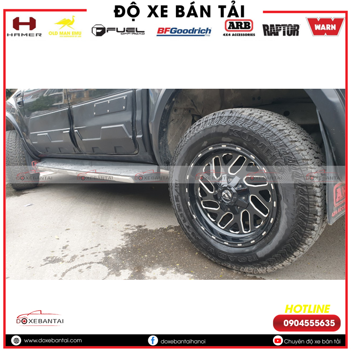 xe-ford-ranger-do-lop -kumho-at