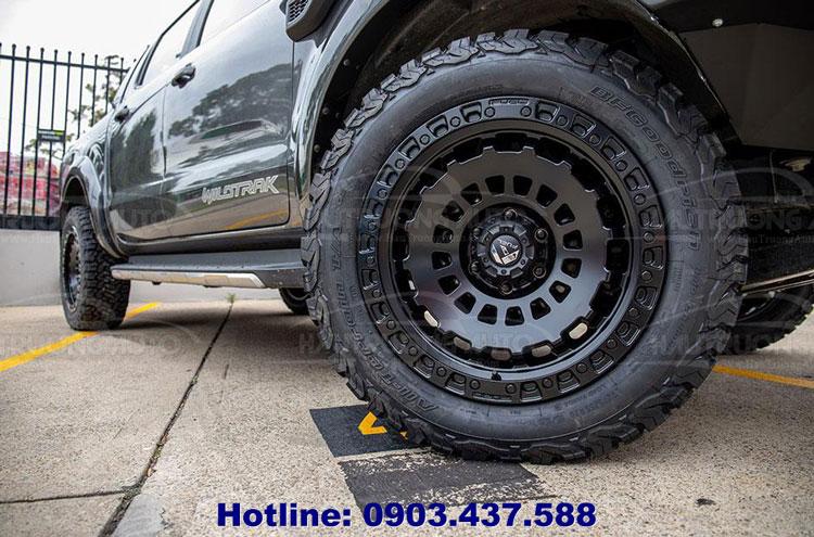Các loại lốp xe Ford Ranger và cách đọc thông số kỹ thuật