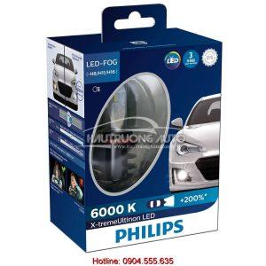 Bóng đèn Philips tăng sáng LED H8/H11/H16 Philips X-treme Ultinon