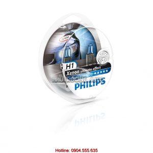 Bóng đèn Philips H1 BlueVision ultra chính hãng