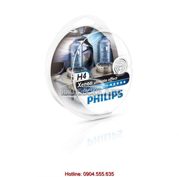 Bóng đèn Philips H4 BlueVision ultra
