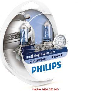 Bóng đèn pha H11 Philips Crystal Vision