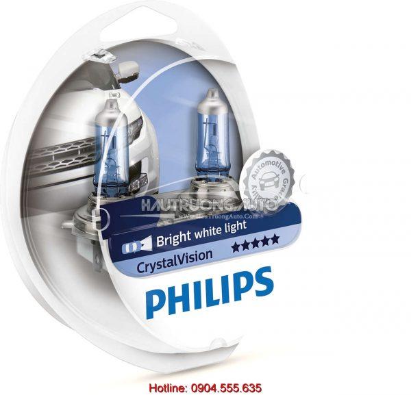 Bóng đèn pha H4 Philips Crystal Vision