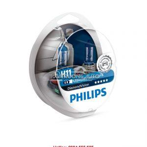 Bóng đèn H11 Philips DiamondVision 5000K