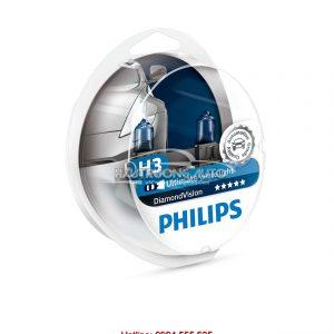 Bóng đèn H3 Philips DiamondVision 5000K
