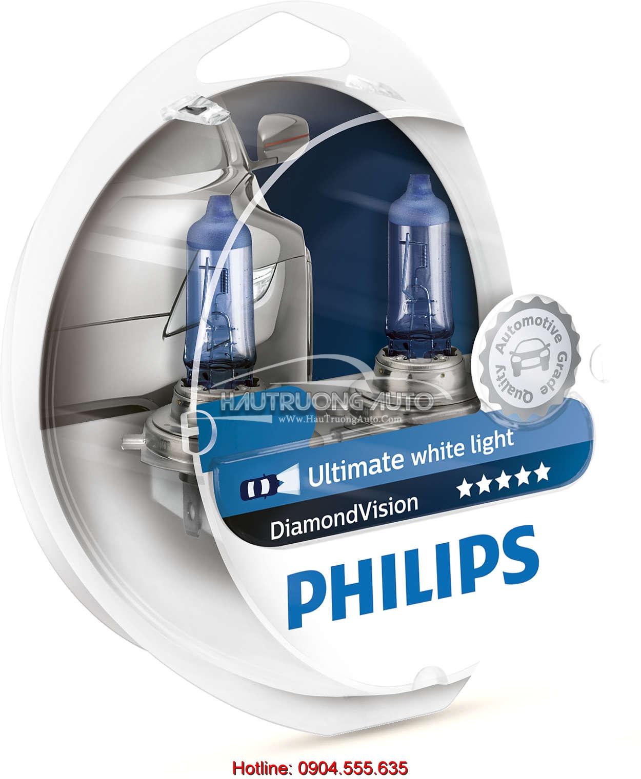 Bóng đèn HB4 Philips DiamonVision 5000K