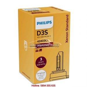 Bóng đèn Philips tiêu chuẩn Xenon D3S