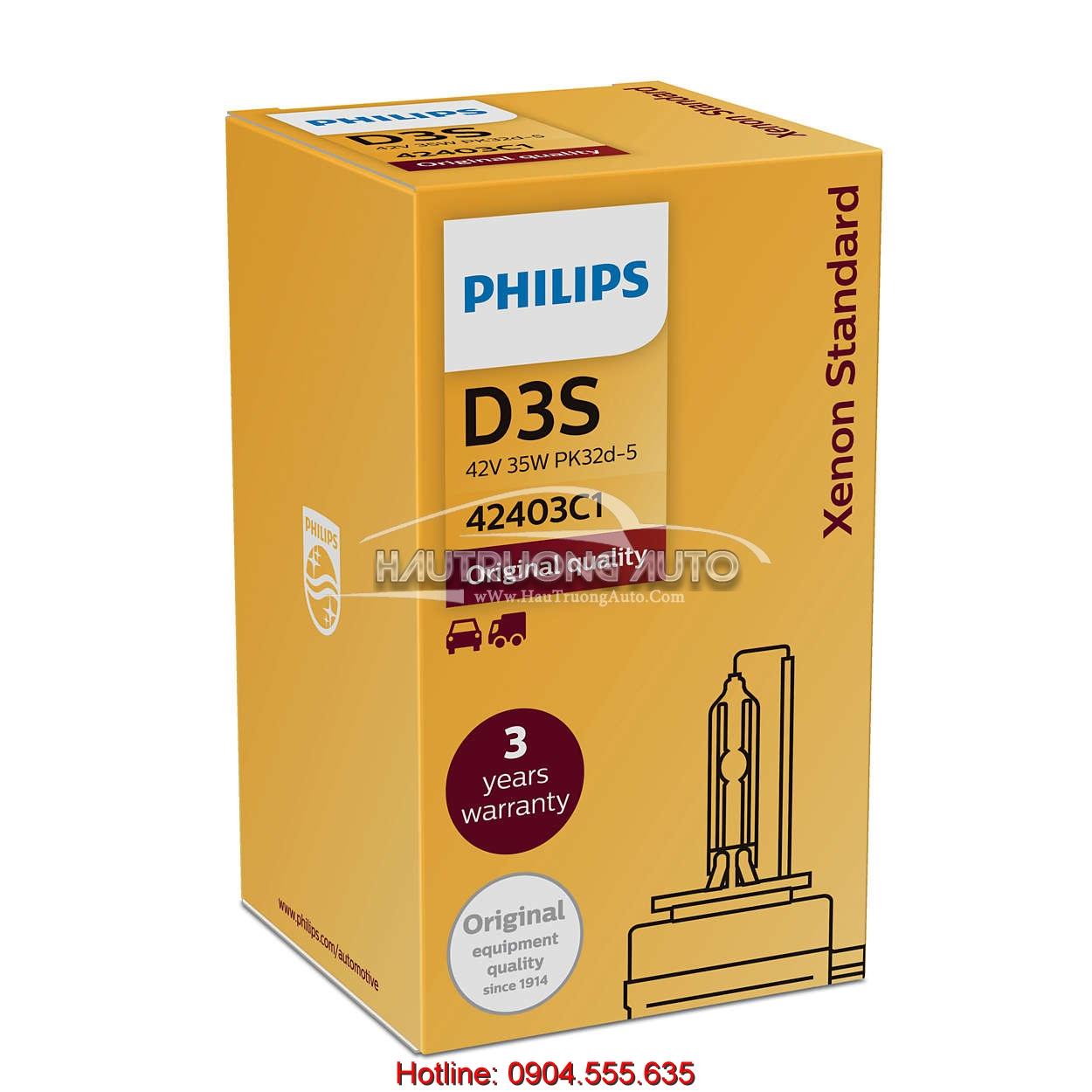 Bóng đèn Philips tiêu chuẩn D3S