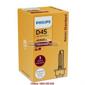 Bóng đèn Philips tiêu chuẩn Xenon D4S