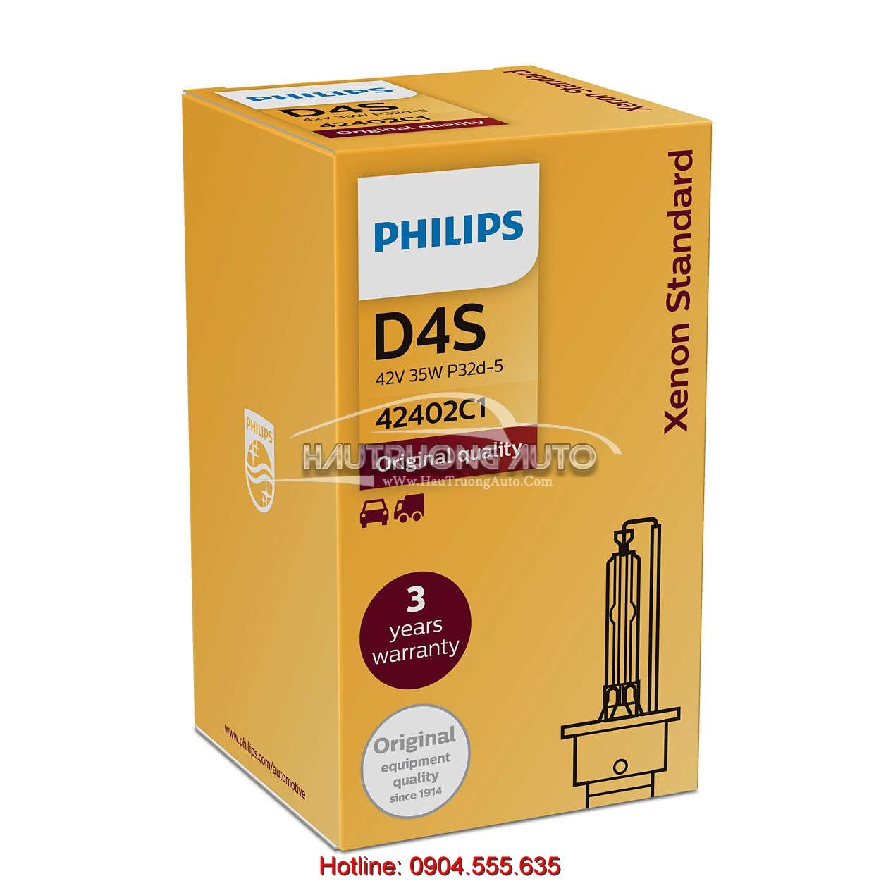 Bóng đèn Philips tiêu chuẩn D4S