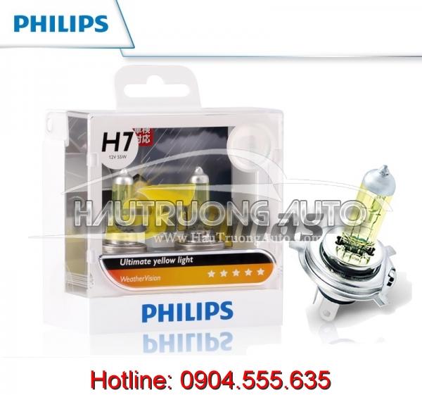 Bóng đèn sương mù Philips H7 WeatherVision