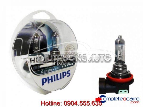 Bóng đèn tăng sáng 100% H11 Philips X-tremeVision