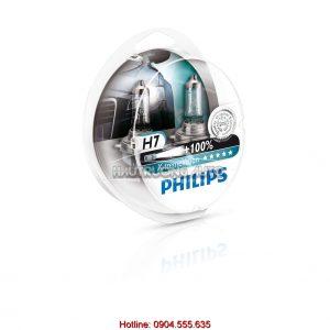Bóng đèn tăng sáng 100% H7 Philips X-tremeVision