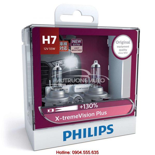 Bóng đèn H7 Philips X-tremeVision Plus 100