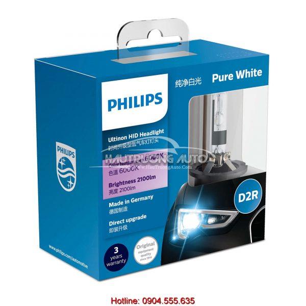 Bóng đèn Philips tăng sáng Ultinon HID Xenon D2R