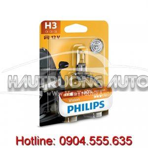 Bóng đèn Vision Philips H3 tăng sáng 30%
