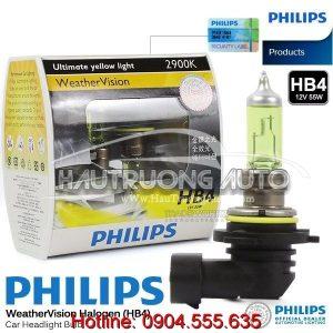 Bóng đèn sương mù Philips HB4 WeatherVision