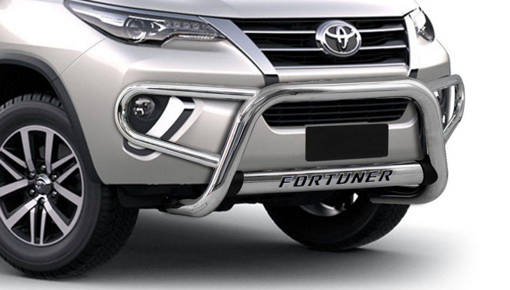 Độ cản trước Fortuner giúp chiếc xe được bảo vệ tốt hơn (Mẫu 1)