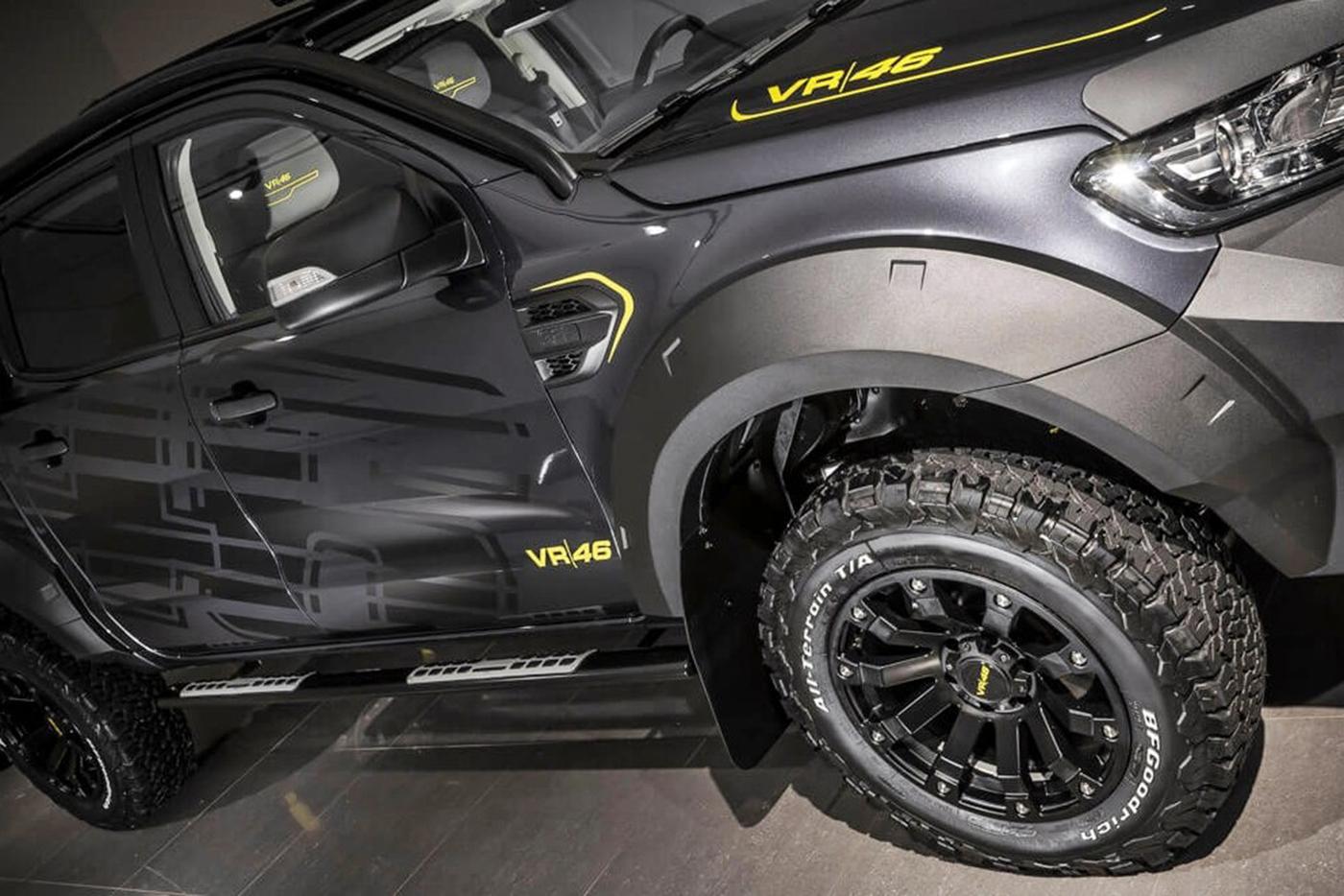 Độ lazang cho Ford Ranger sẽ tăng sự mới lạ hơn nhiều so với nguyên bản