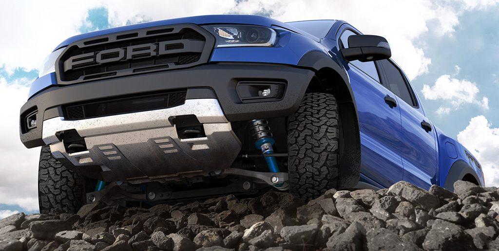 Giảm xóc xe bán tải Ford Ranger
