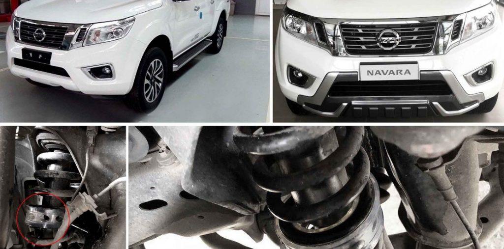 Sử dụng lò xo giảm xóc ô tô trên các dòng bán tải