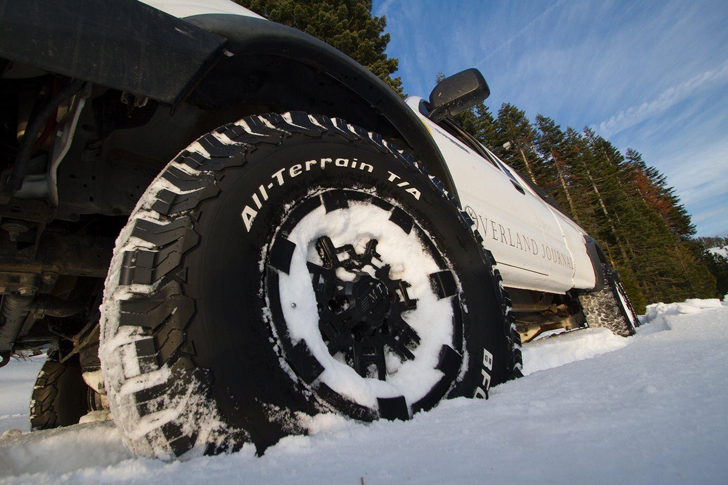 Thử nghiệm lốp BFGoodrich trên băng tuyết