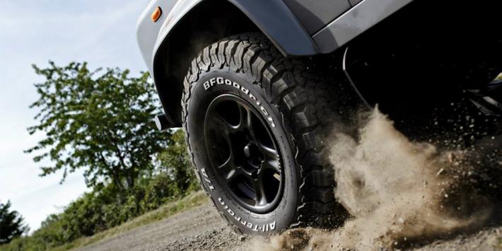 Lốp BFGoodrich – Mẫu lốp độ cho xe bán tải