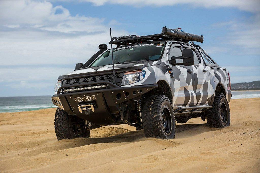 Lốp xe độ Ford Ranger tốt sẽ giúp lái xe có thể tự tin đi trên mọi địa hình