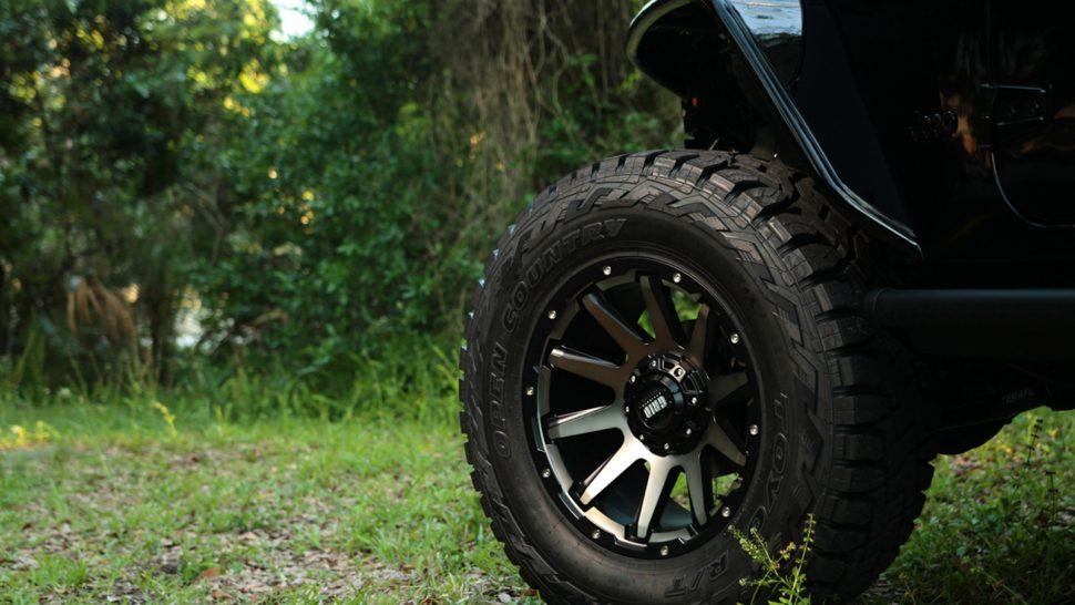 Mẫu mâm xe Ford Ranger -Mâm GRID GD tạo sự chắc chắn, mạnh mẽ cho chiếc Ford Ranger của bạn