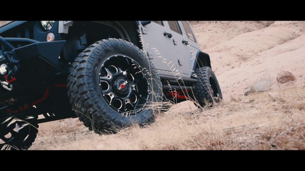 Mân xe Ford Ranger - Mâm Worx Alloy thiết kế 6 nhánh tỏa, tạo sự hầm hố, dữ dằn
