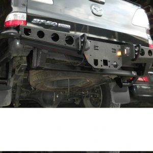 Cản sắt sau độ dành cho Mazda BT 50