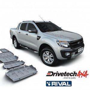 Bảo vệ gầm Rival cho xe Ford Ranger và Mazda BT-50