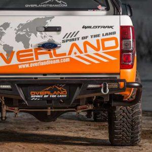 Cản sau K2 Next Trail Overland cho xe bán tải Ford Ranger