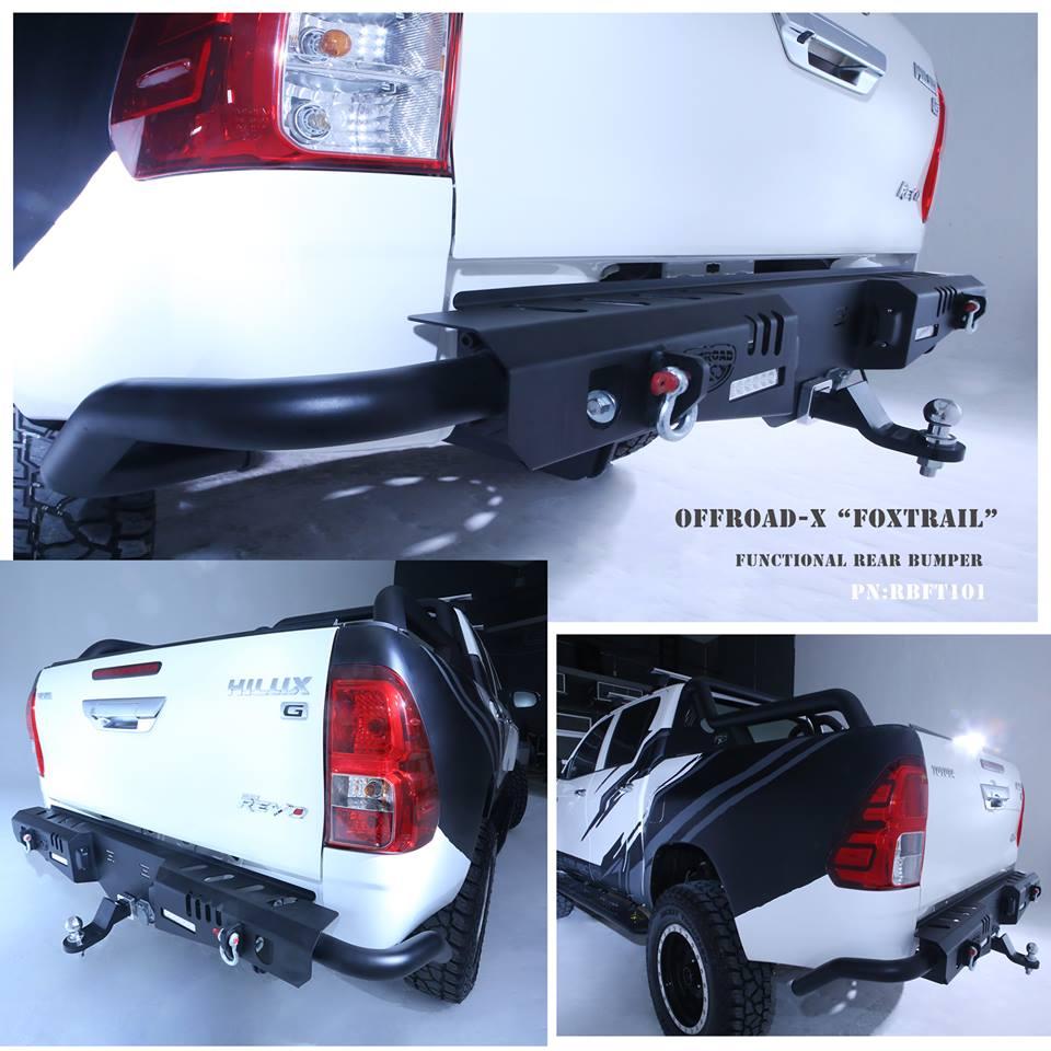 Cản sau KSC Offroad-X Foxtrail dành cho xe Toyota Hilux
