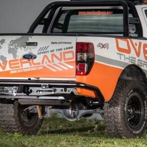 Cản sau Overland Andez Series cho xe Ford Ranger