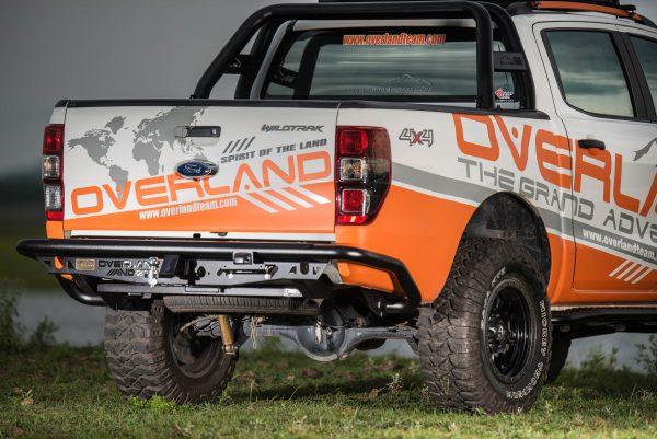 Cản sau cho xe Ford Ranger thương hiệu Overland Andez