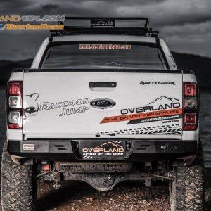 Cản sau Overland Nevada Series cho xe bán tải Ford Ranger