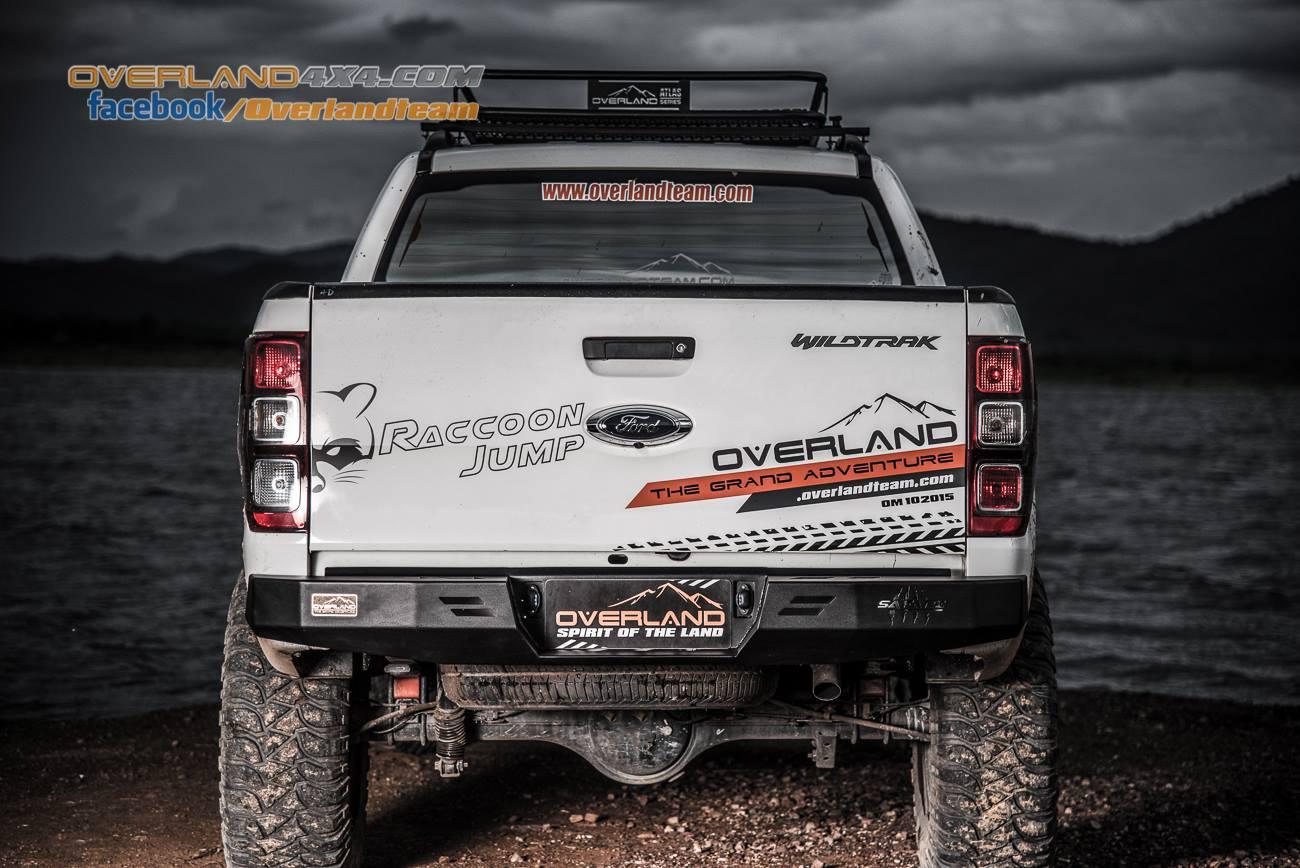Cản sau cho xe Ford Ranger thương hiệu Overland Nevada