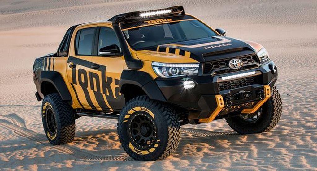 Xe bán tải Toyota Hilux độ