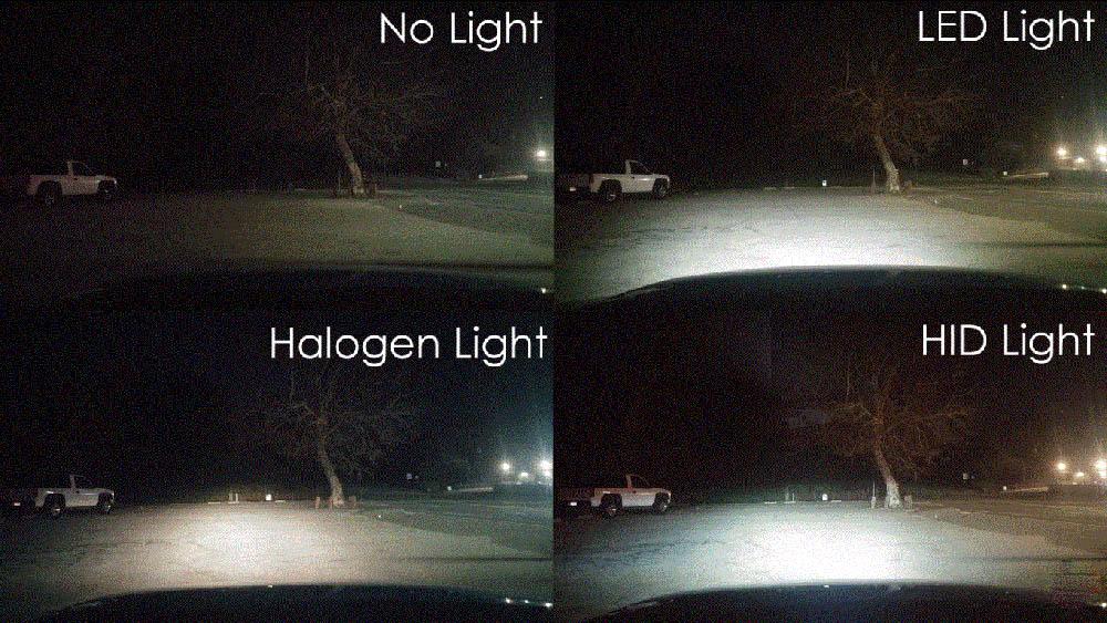 độ đèn xe bán tải