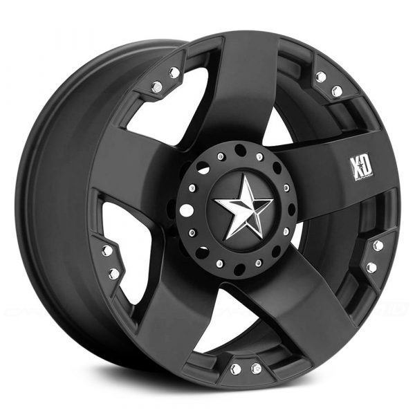 Mâm XD775 Rockstar Black
