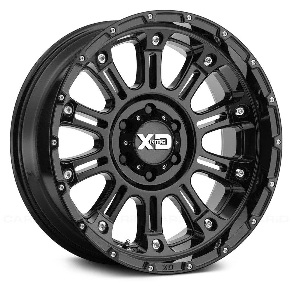 Mâm xe độ XD829 Gloss 2 Black