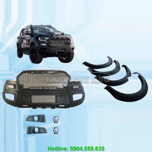 Bộ Bodykit Full phong cách Raptor cho xe Ford Ranger