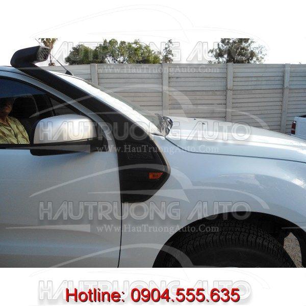 Độ ống thở cho xe Ford Ranger