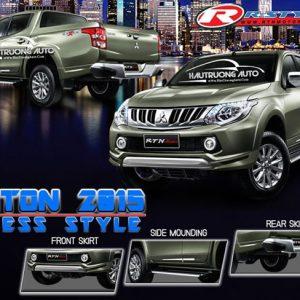 Body kit xe bán tải Mitsubishi Triton – giá xe body kit xe Mitsubishi Triton