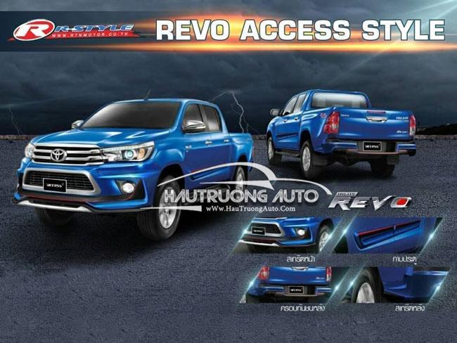 Các mẫu độ Body kit đẹp và chất cho xe bán tải Toyota Hilux