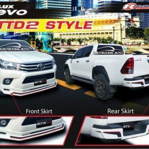 Body kit xe bán tải Toyota Hilux – giá body kit xe Toyota Hilux