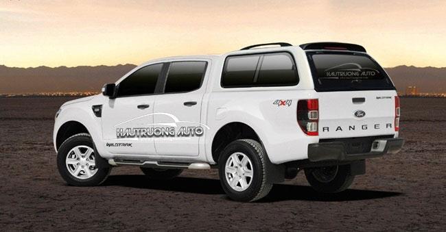 Độ nắp thùng xe bán tải Ford Ranger làm sao cho phù hợp
