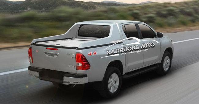 Các loại nắp thùng xe bán tải Toyota Hilux – Ưu và nhược điểm của nó