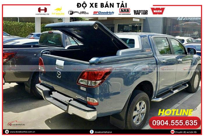 Nắp thùng xe bán tải Mazda BT50 - giá nắp thùng xe bán tải BT50